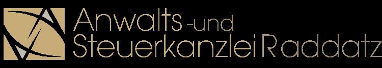 Anwalts- und Steuerkanzlei Raddatz Hattingen Logo